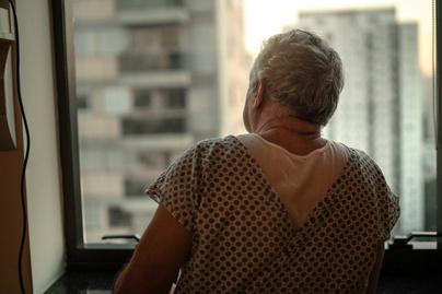 idős rákos beteg