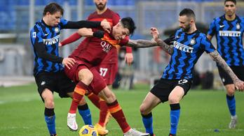 Nem bírt egymással a Roma és az Inter