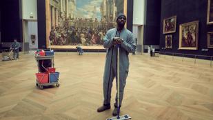 Kifosztotta a Louvre-t, cserébe elvitték a fiát
