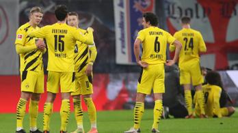 Hónapokra kidőlt a Dortmund futballistája