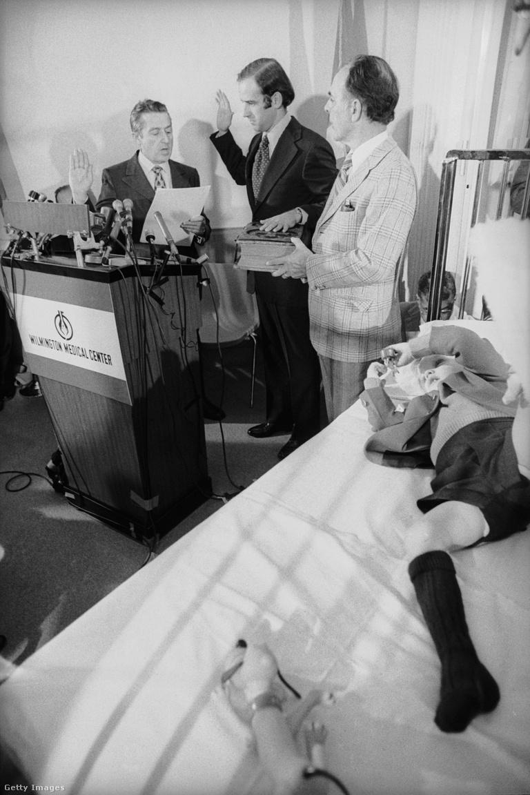 Biden mély depresszióba zuhant, de a szenátori tisztségtől nem állt el: Beau kórházi ágya mellett tette le hivatali esküjét 1973-ban. Bármennyi örömet is lelt fiainak gyógyulásában, düh emésztette, olykor azon találta magát, hogy az utcán sétál este, és azt várja, valaki belé kössön. Fiai és szenátusi kollégái tartották benne a lelket, de a kilábalást az is segítette, hogy 1975-ben bemutatták második és jelenlegi feleségének, Jillnek, akivel 1977-ben kötöttek házasságot. Közös gyermekük, Ashley 1981-ben született.