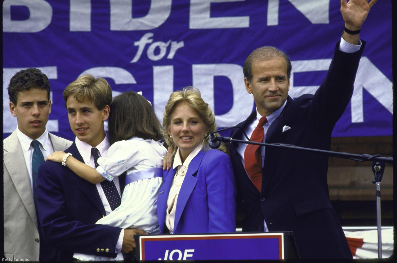 Először 1987-ben indult az elnöki tisztségért, a kampányban azonban plágiumbotrányokba keveredett. Először azzal vádolták, hogy plagizálta Neil Kinnock, a brit Munkáspárt akkori vezetőjének egyik beszédét, később kiderült, hogy John F. Kennedytől is hivatkozás nélkül kölcsönzött pár gondolatot. Végül feladta a versenyt, néhány hónappal később pedig sztrókkal kórházba került, aminek következtében több műtéten is átesett.