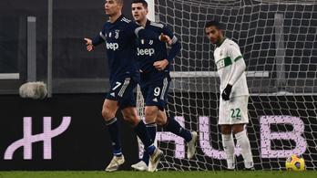 A hajrában győzte le a Juventus a Sassuolót