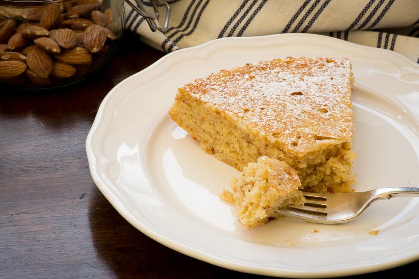 Liszt nélkül készül a pihe-puha mandulás sütemény – Alig kell hozzá valami