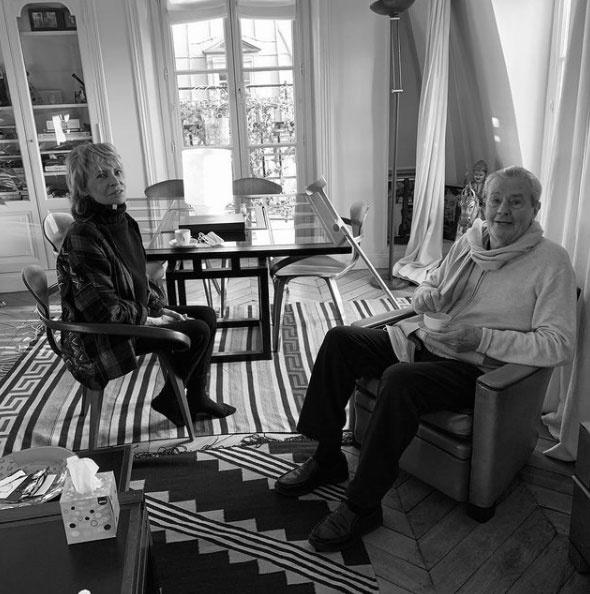 Bár Alain Delon és Nathalie Delon 1969-ben elváltak, azóta is szeretik és tisztelik egymást.