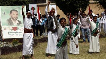 Az Egyesült Államok terrorista szervezetnek nyilvánítja a jemeni kormány ellen harcoló húszikat
