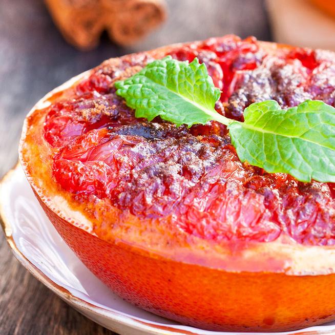 Grillezett, karamellizált grapefruit: a legfinomabb vitamingazdag reggeli