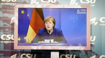 Angela Merkel szerint problémás, hogy a Twitter felfüggesztette Donald Trump fiókját