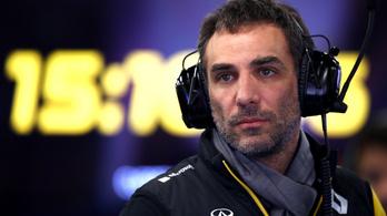 Távozott a Formula–1-es Renault-istálló csapatfőnöke