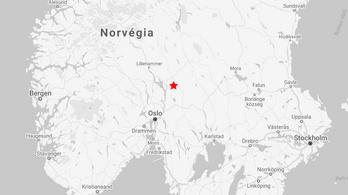 Becsapódás Norvégiában