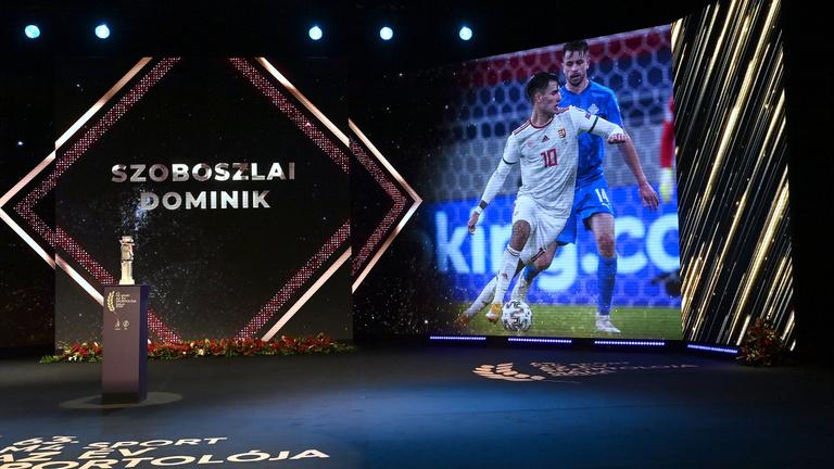 Tarolt a labdarúgó-válogatott az Év Sportolója Gálán