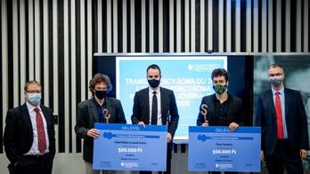 A Direkt36 és a G7.hu újságírói kapták az idei Transparency-Soma Díjat