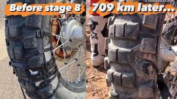 A műszakiról üvöltve dobnák ki, de a Dakaron jó volt a második helyre