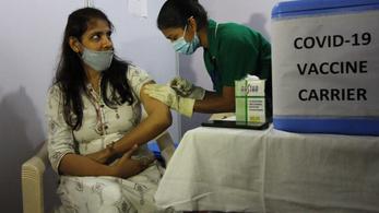 Indiában több, mint ötmillió vakcinát szállítanak ki ma