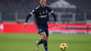 Cristiano Ronaldo már csak két gólra a világelsőségtől
