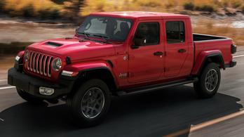 Európába is megérkezett a platós Jeep