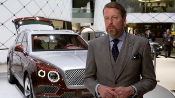 Távozik a Bentley vezető formatervezője