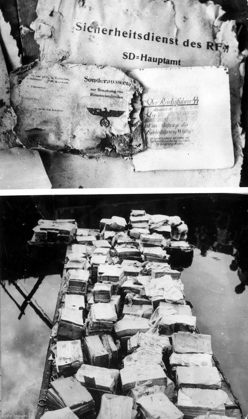 Az 1959-es expedíció során nemcsak hamis font, hanem több titkos dokumentum is felszínre került.