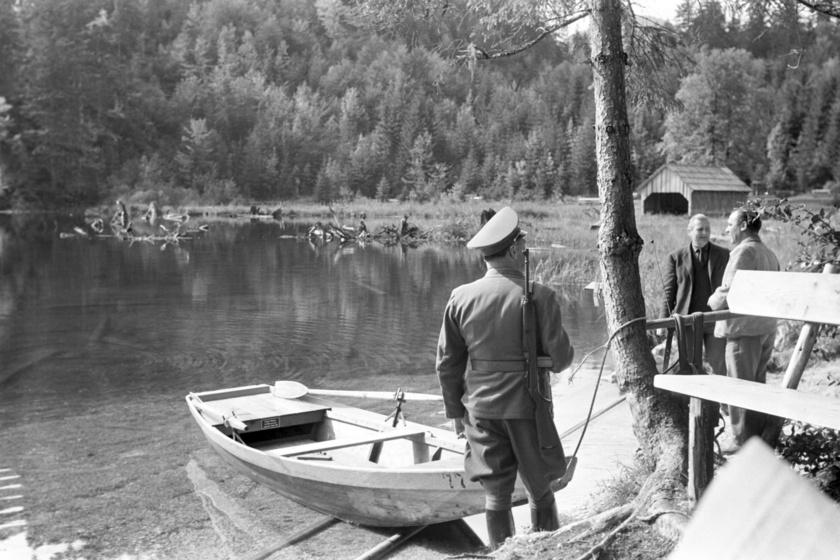 1963-ban bevezették a merülési tilalmat, amit szigorúan ellenőriztek is.