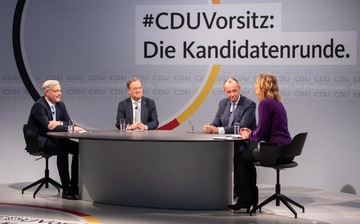 A CDU elnökválasztása 2021. január 8-án.