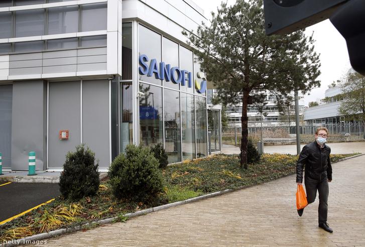 A Sanofi központja Gentillyben, Párizs közelében.