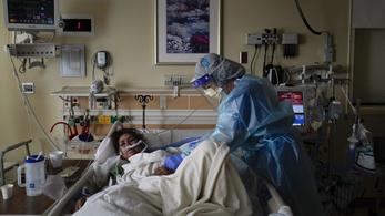 Tovább tart a koronavírus okozta tüdőgyulladás