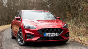 Teszt: Ford Focus mHEV ST-Line X 1,0 Ecoboost – 2020.