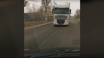 Amikor szembejön a kamion