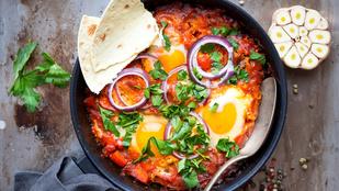 Zöldségekkel sült tojás – mexikói hangulatban szeretjük a legjobban