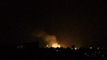 Kéttucatnyi ember halt meg egy izraeli légitámadásban