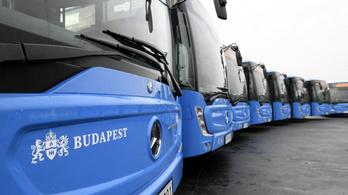 A havazó éj leple alatt érkezett 17 új busz Budapestre