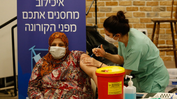 Zárlat mellett is rendkívül magas a fertőzöttek száma Izraelben