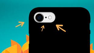 Mi az a pici lyuk a telefonod kamerája és a vaku között?