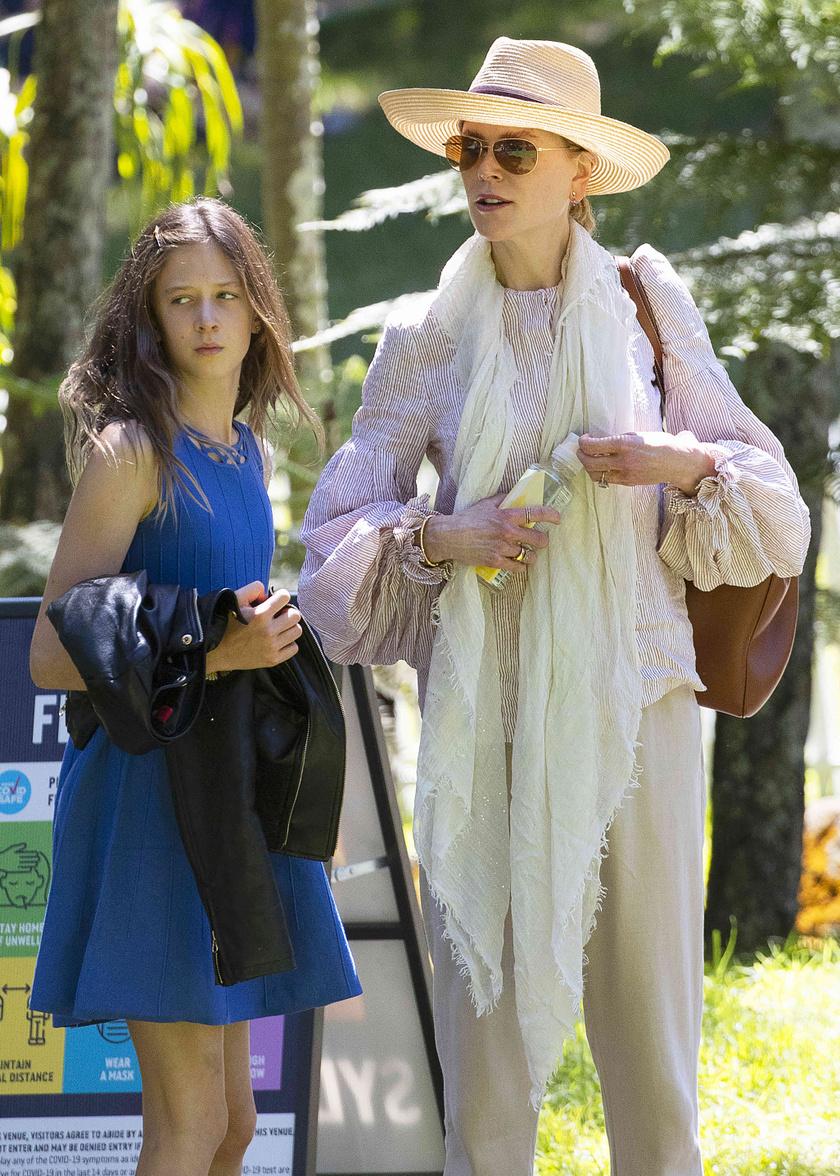 Sunday, Nicole Kidman kamasz lánya a nyáron lesz 13 esztendős.