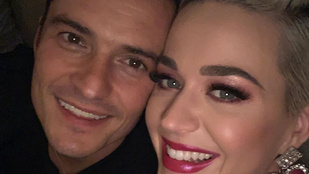 Katy Perry eddig nem látott fotókkal köszöntötte a szülinapos Orlando Bloomot