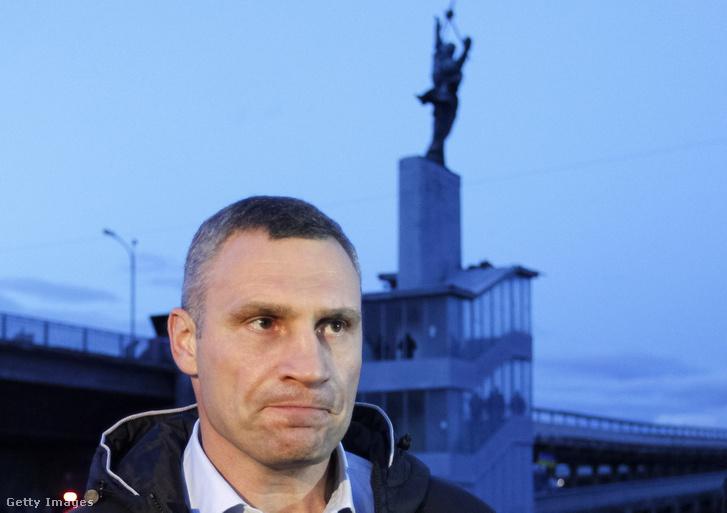 Vitalij Klicsko, kijevi főpolgármester