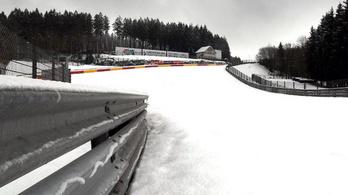 Hó alatt alusszák téli álmukat a világ versenypályái