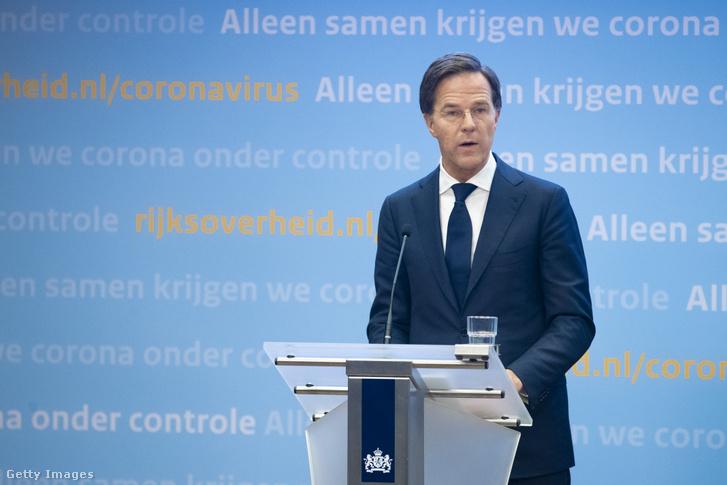 Mark Rutte, holland kormányfő