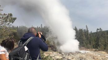 Újra beindult a Yellowstone gőzhajója