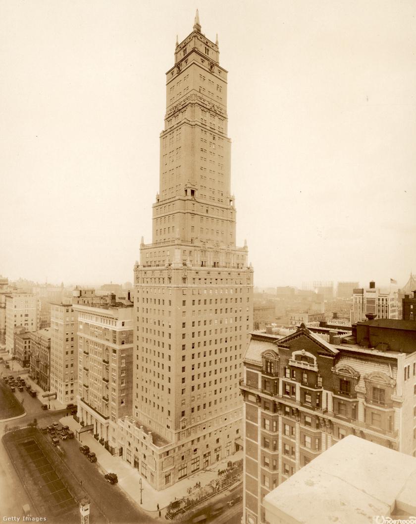Ritz-torony, 1930-as évek.