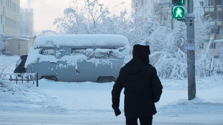 Érkezik a fagy Szibériából, ami arrafelé csak langy téli idő