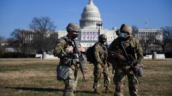 Több mint 20 ezer nemzeti gárdista fogja biztosítani Joe Biden beiktatását