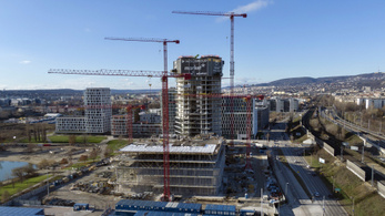 Novemberre magához tért az építőipar