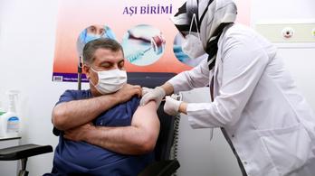 Törökországban a kínai vakcinával oltanak