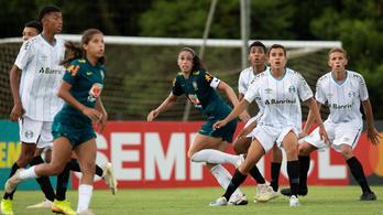 16 éves fiatalok ütötték ki a brazil női fociválogatottat