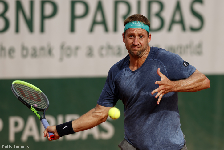 Tennys Sandgren a 2020-as Roland Garroson