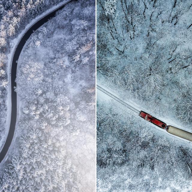 Eltalálod, melyik fotó készült Magyarországon? 10 hangulatos téli képpárt mutatunk