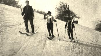 Még nagyon kevés a hó a síeléshez és a szánkózáshoz a Normafán