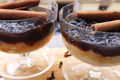 Krémes grízpuding fahéjzselével borítva – Gyorsan elkészül az édes desszert