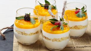 Ezt a joghurtos-mandarinos pohárkrémet a diétád alatt is bátran fogyaszthatod